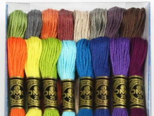 DMC Cotton Embroidery Floss - 16 New Colours Pack