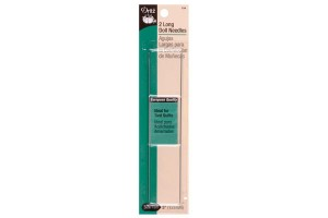 Long doll needle 2 pack