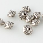 Thai Silver - Stacked Bicone