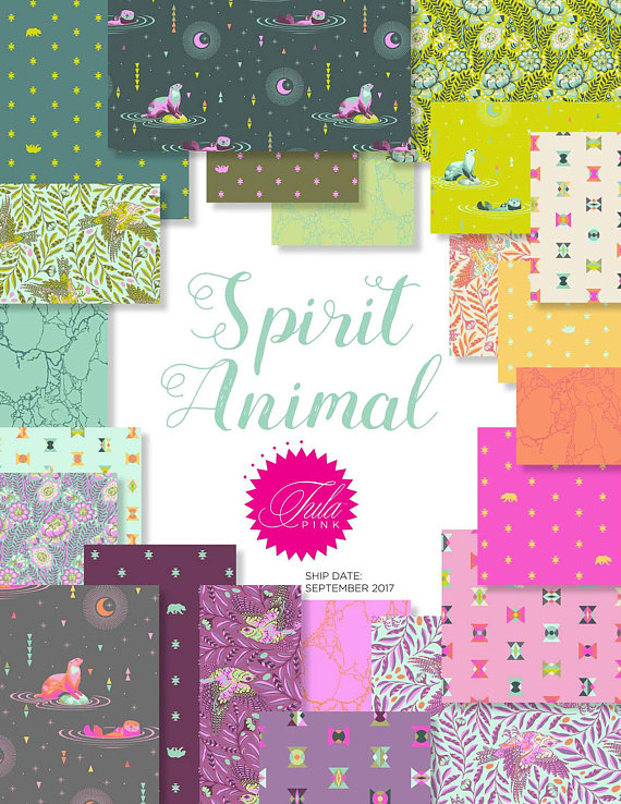 Tula Pink's Animal Spirit In Stock!